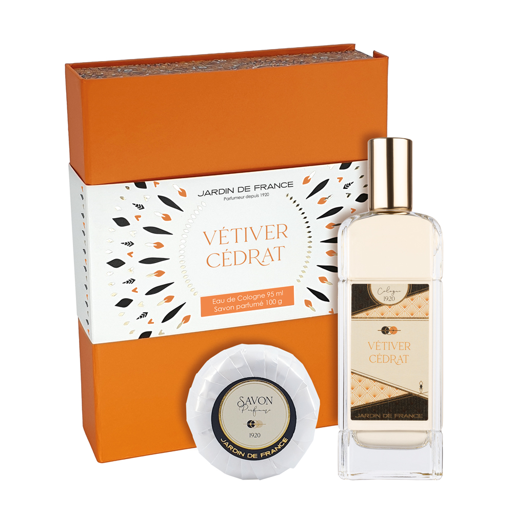 Coffret Vétiver Cédrat 95 ml